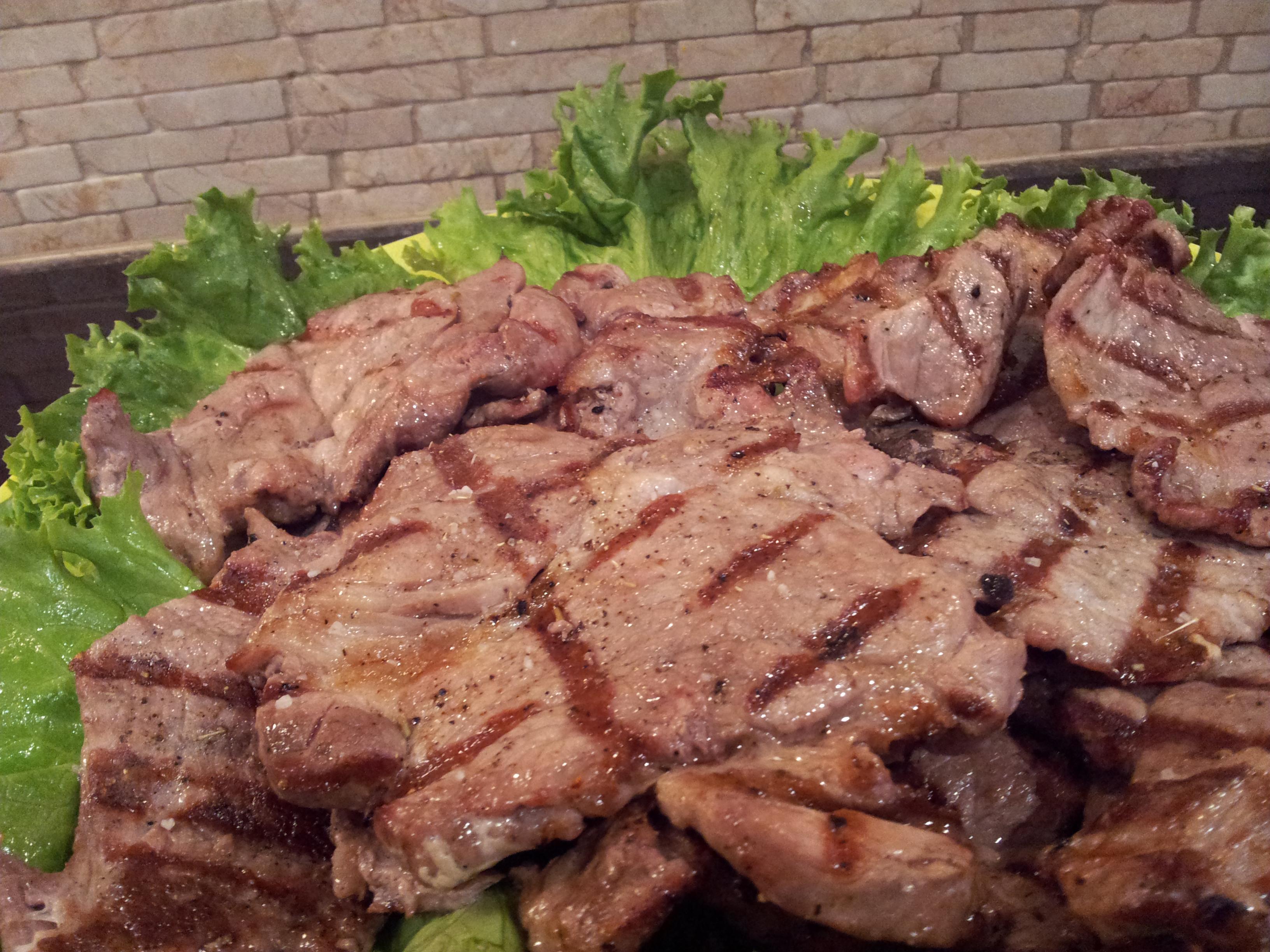 Grilled Pork Butt Chops